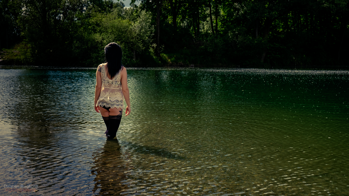 Am Wasser mit Alexandra