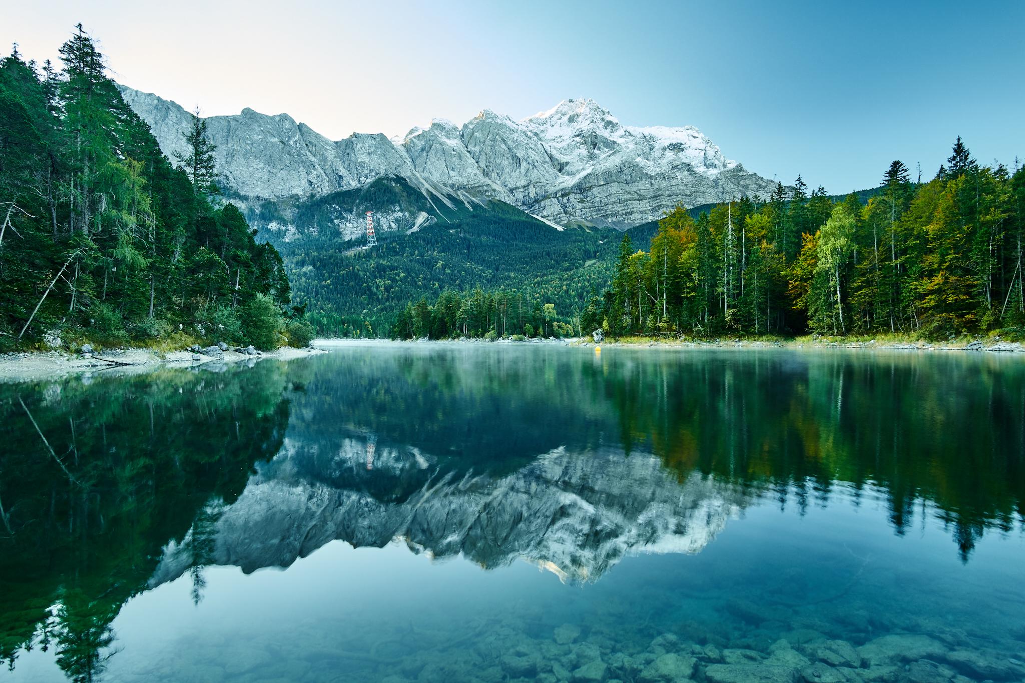 Tage am See - Eibsee und Zugspitze