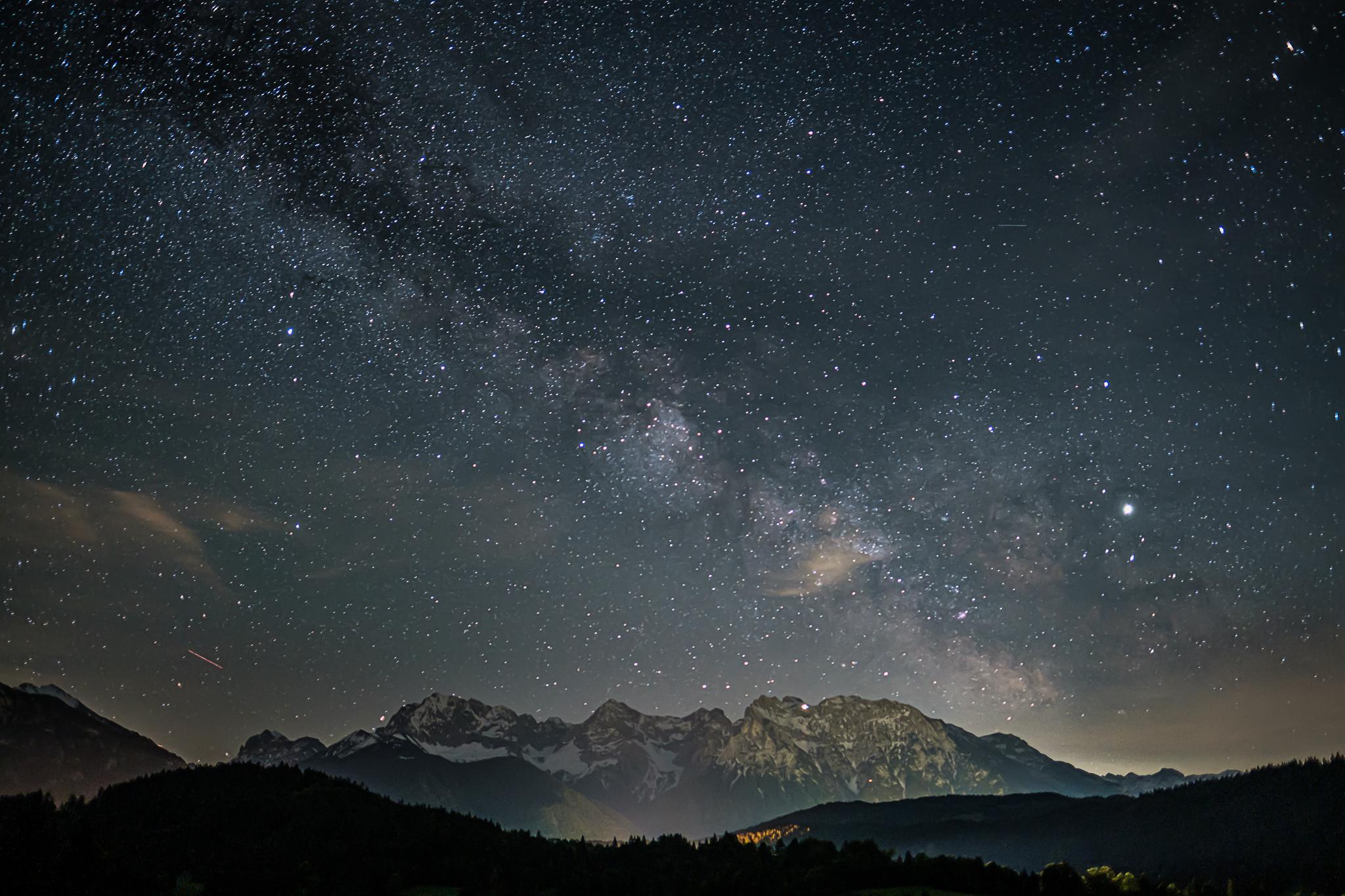 Nachts am Geroldsee