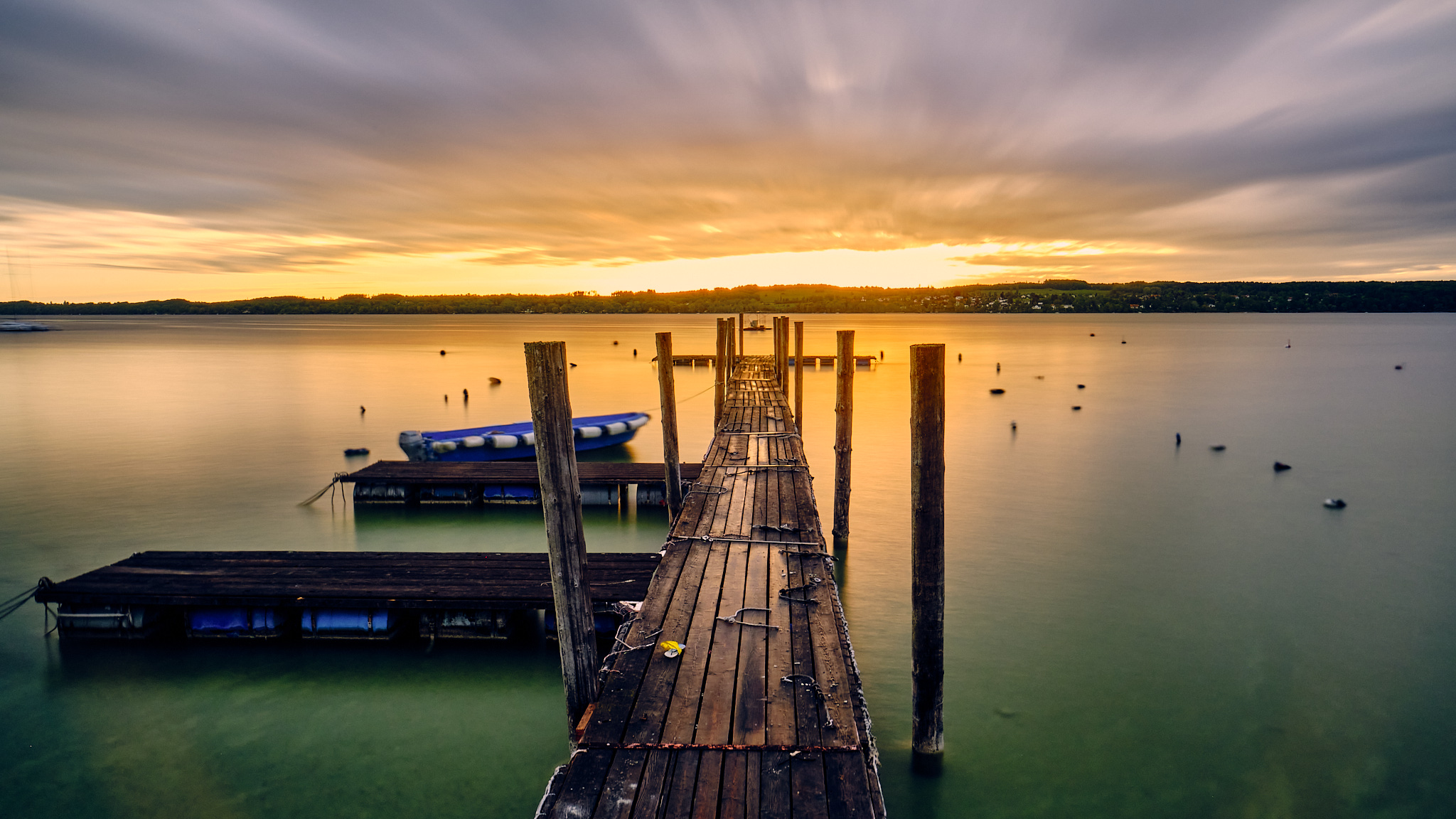 Sonnenaufgang am Ammersee