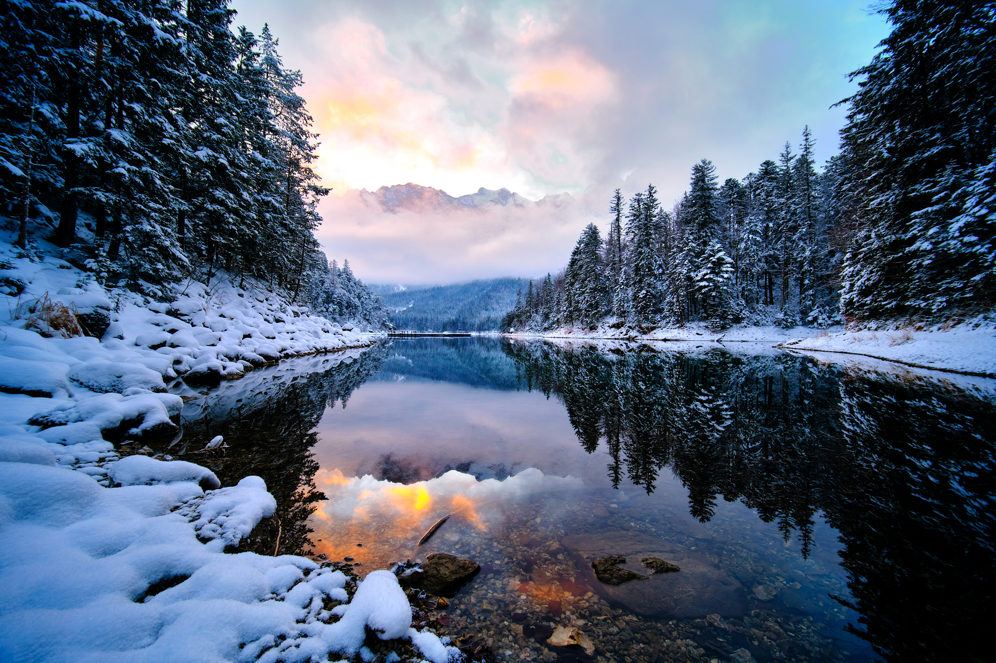 Winter Wonderland Eibsee