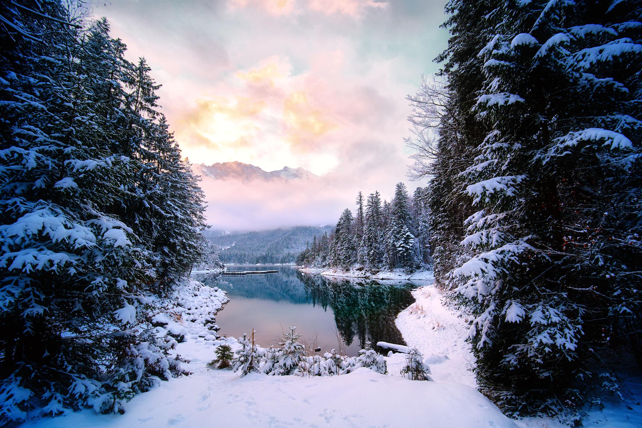 Winterwonderland Eibsee